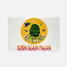 Born Again Pagan Rectangle Magnet