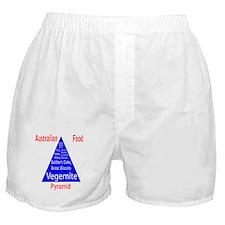 Australian Food Pyramid Boxer Shorts