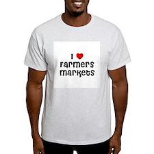 I * Farmers Markets Ash Grey T-Shirt