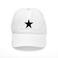 Black 5-Pointed Star Baseball Cap
