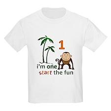 Monkey Fun One T-Shirt