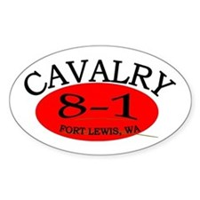 8th Squadron 1st Cavalry Decal