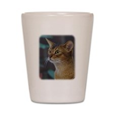 Abyssinian Cat AA025D-018 Shot Glass