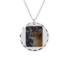 Abyssinian Cat AA025D-018 Necklace