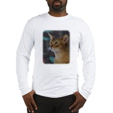 Abyssinian Cat AA025D-018 Long Sleeve T-Shirt