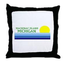 Cute Northern michigan Throw Pillow