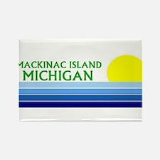 Unique Mackinac Rectangle Magnet