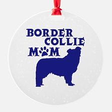Border Collie MOM Ornament