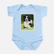 Border Collie 9A014D-14 Infant Bodysuit