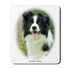Border Collie 9A14D-19 Mousepad