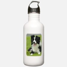 Border Collie 9A015D-10_2 Sports Water Bottle
