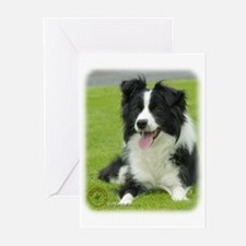 Border Collie 9A015D-10_2 Greeting Cards (Pk of 20