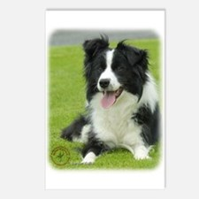 Border Collie 9A015D-10_2 Postcards (Package of 8)