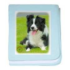 Border Collie 9A015D-10_2 baby blanket