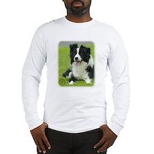 Border Collie 9A015D-10_2 Long Sleeve T-Shirt
