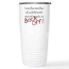 Back Off!! Travel Mug