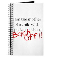 Back Off!! Journal