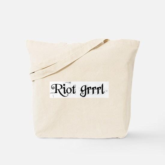 Riot Grrrl Tote Bag