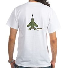 MiG-29 on Back of Tee Shirt