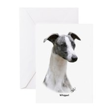 Whippet 9Y205D-231 Greeting Cards (Pk of 20)
