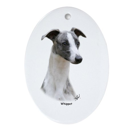 Whippet 9Y205D-231 Ornament (Oval)