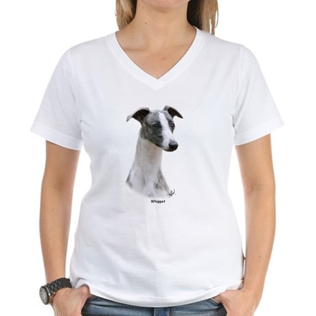 Whippet 9Y205D-231 Women's V-Neck T-Shirt
