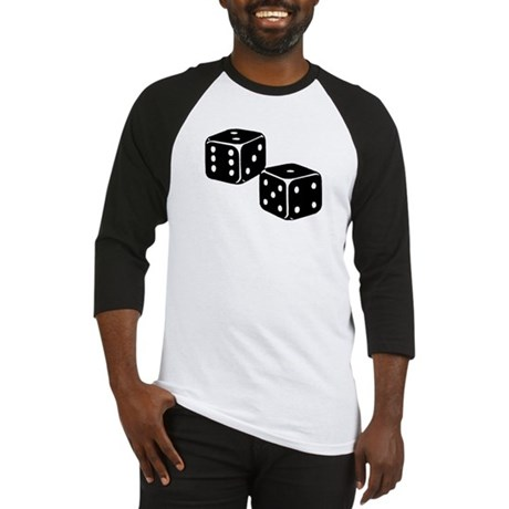 Vintage Dice Icon Baseball Jersey