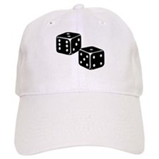Vintage Dice Icon Baseball Cap