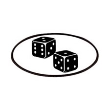 Vintage Dice Icon Patches