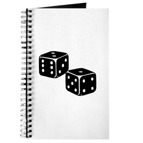 Vintage Dice Icon Journal