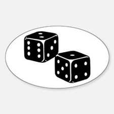 Vintage Dice Icon Decal