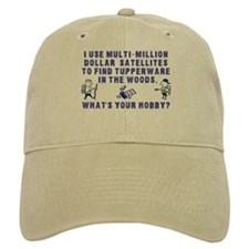 """I use multi-million dollar..."" Geocache Baseball Cap"