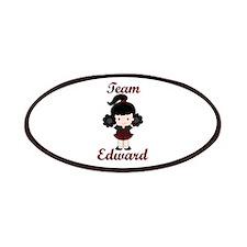 Team Edward Cheerleader Patches