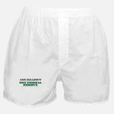 Federal Reserve - Ask Me Boxer Shorts