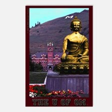 Cute Artwork buddhist Postcards (Package of 8)