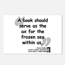 Kafka Book Quote Postcards (Package of 8)
