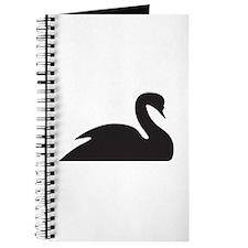 Black Swan Silhouette Journal
