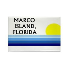 Cool Marco island florida Rectangle Magnet (10 pack)