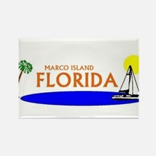Cute Marco island florida Rectangle Magnet (10 pack)