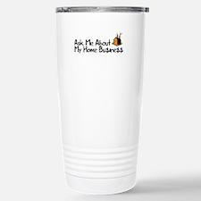 Home Business - Ask Me Travel Mug