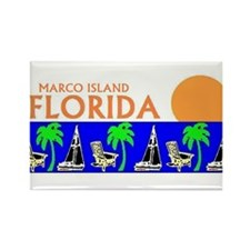 Unique Marco island florida Rectangle Magnet (10 pack)