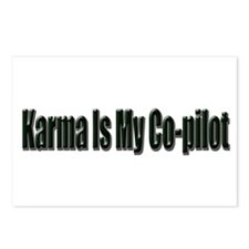 Karma Is My Co-Pilot Postcards (Package of 8)