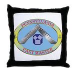 PA Past Master Throw Pillow