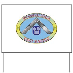 PA Past Master Yard Sign