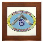 Pennsylvania Past Master Framed Tile