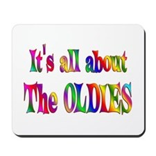 All About Oldies Mousepad