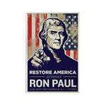 Ron Paul 2012 Rectangle Magnet (100 pack)