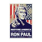 Ron Paul 2012 Mini Poster Print
