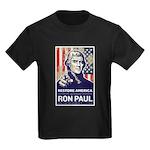 Ron Paul 2012 Kids Dark T-Shirt