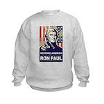 Ron Paul 2012 Kids Sweatshirt